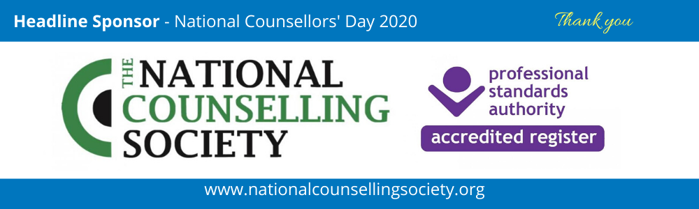 Headline Sponsor - National Counsellors' Day 2020 - National Counselling Society